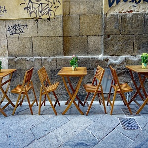 café outdoor furniture